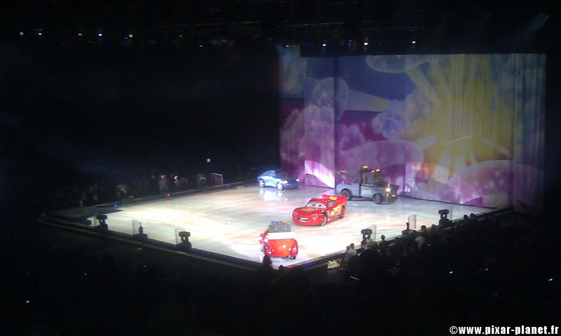 Pixar Planet Disney On ice glace mondes enchantés