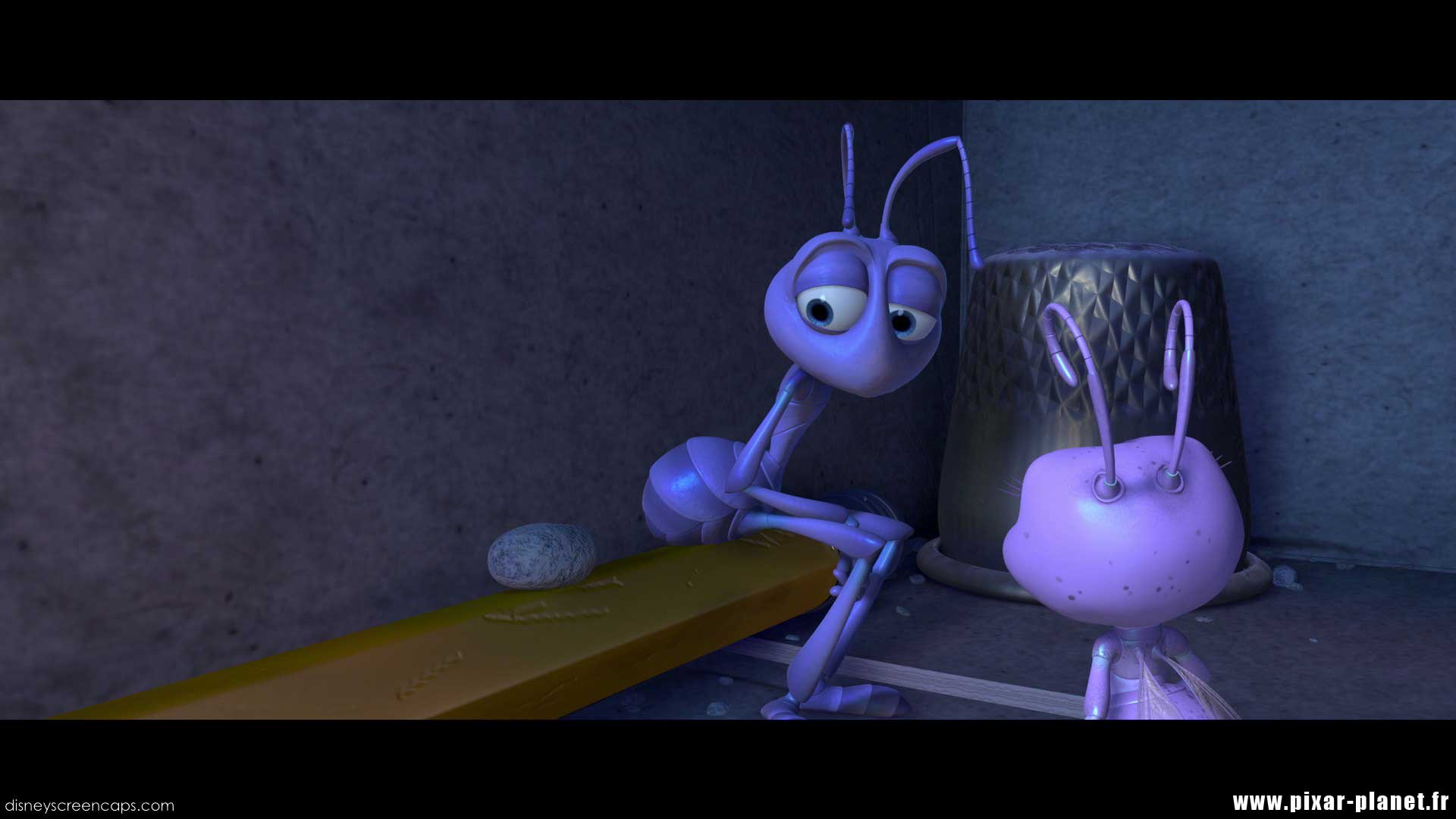 Pixar Planet Disney 1001 pattes bug life