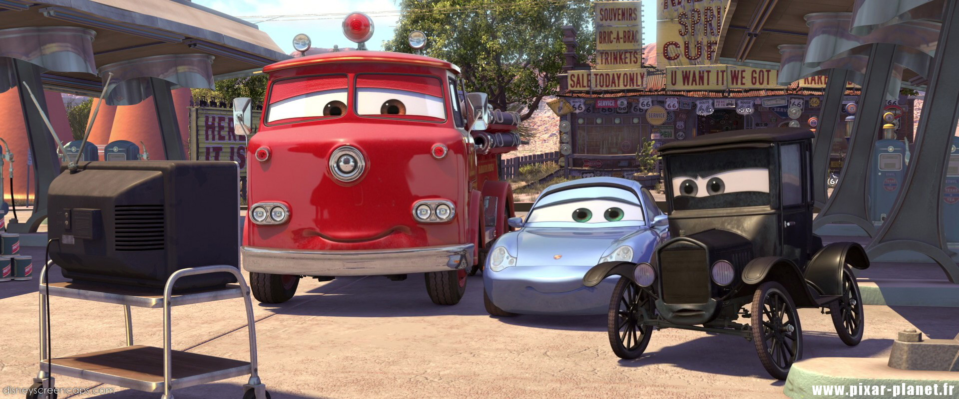 Pixar Planet Disney cars
