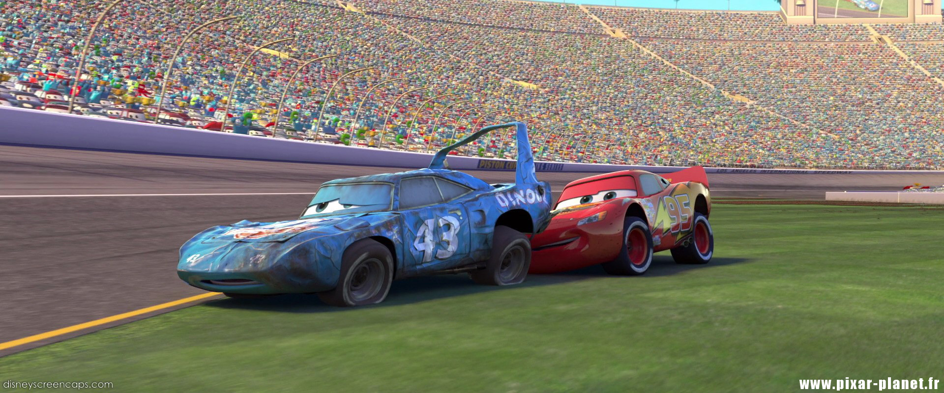 Pixar Planet coches de Disney