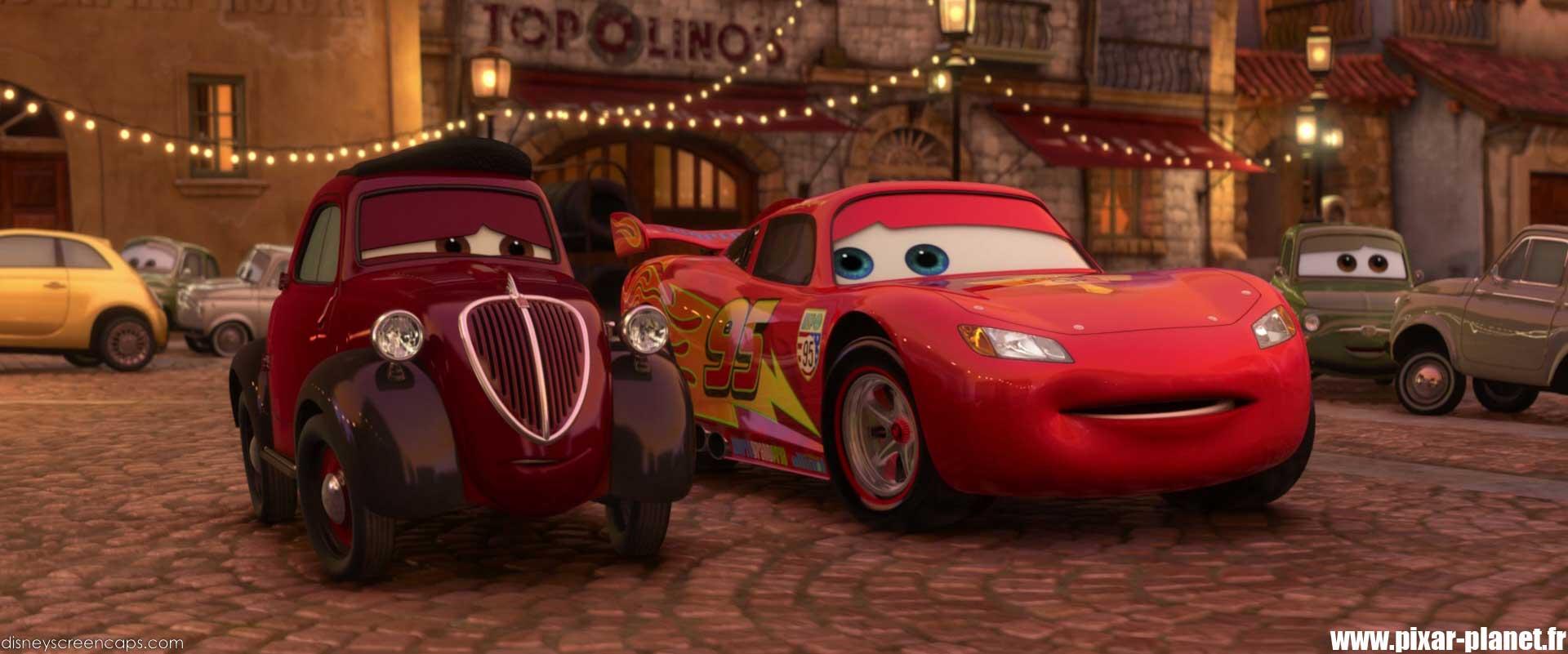 Attractive Pixar Planet Disney Cars 2