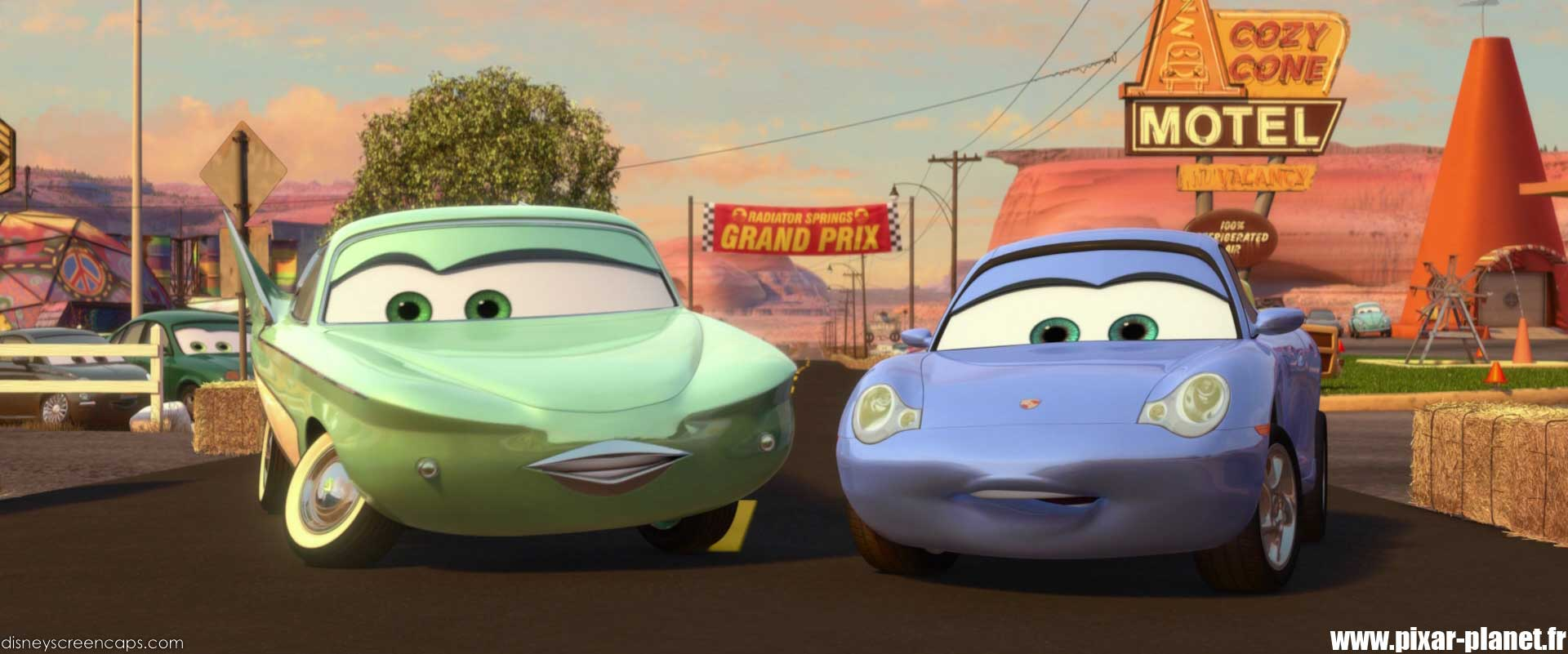 Pixar Planet Disney cars 2