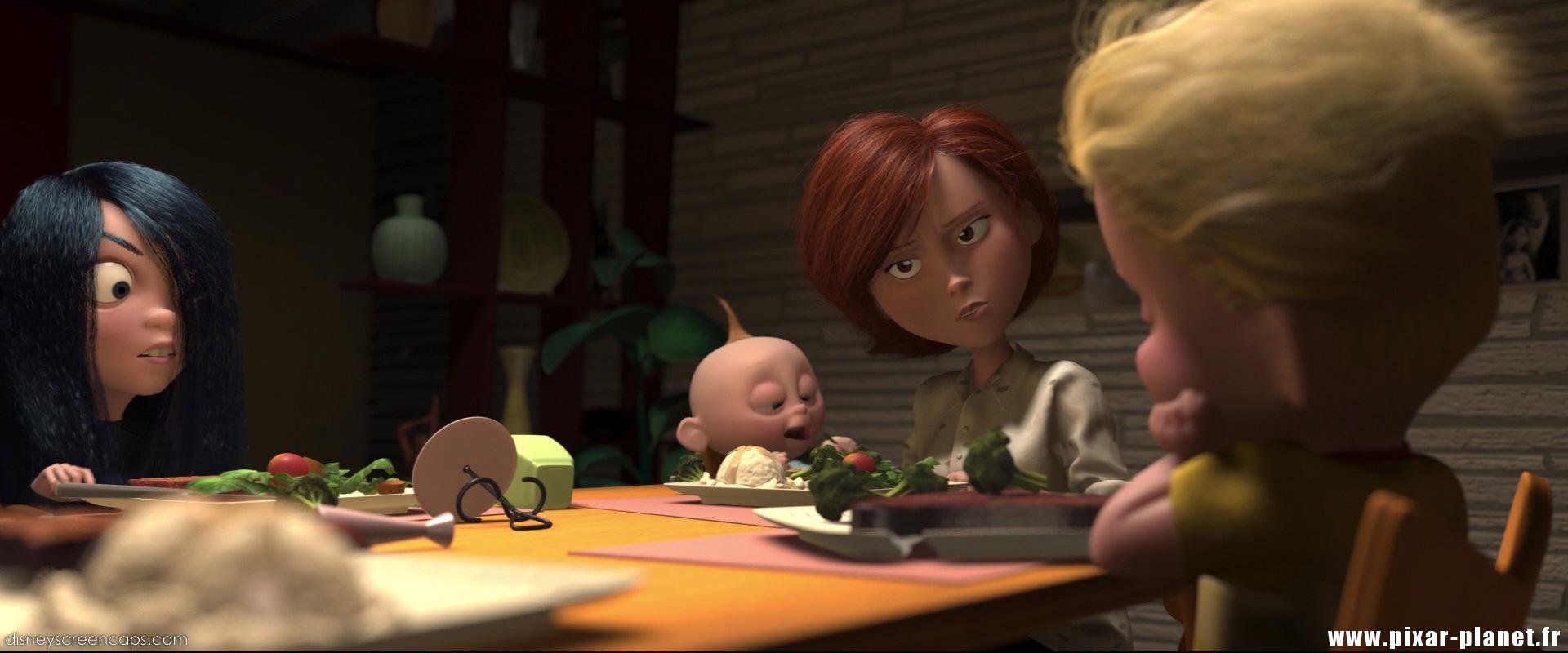 Pixar Planet Disney indestructibles incredibles
