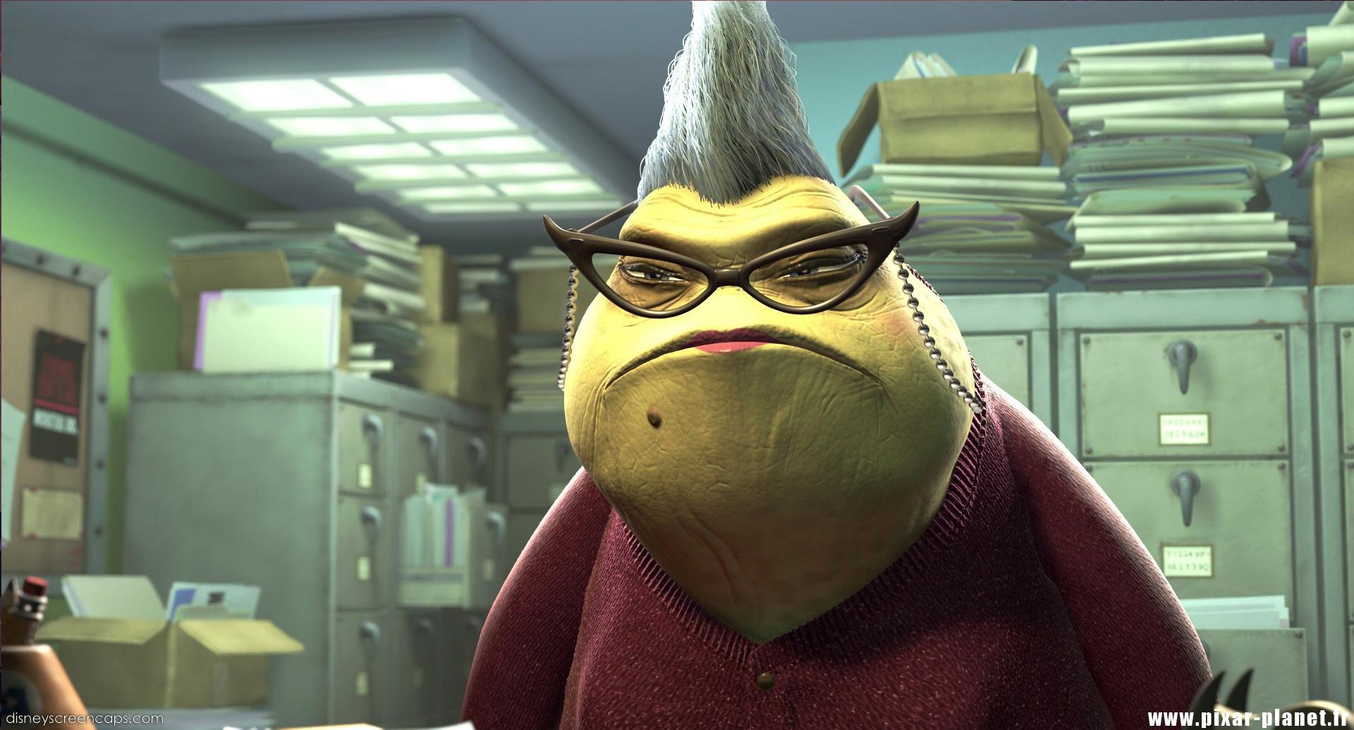 Pixar Planet Disney monstres cie monsters inc