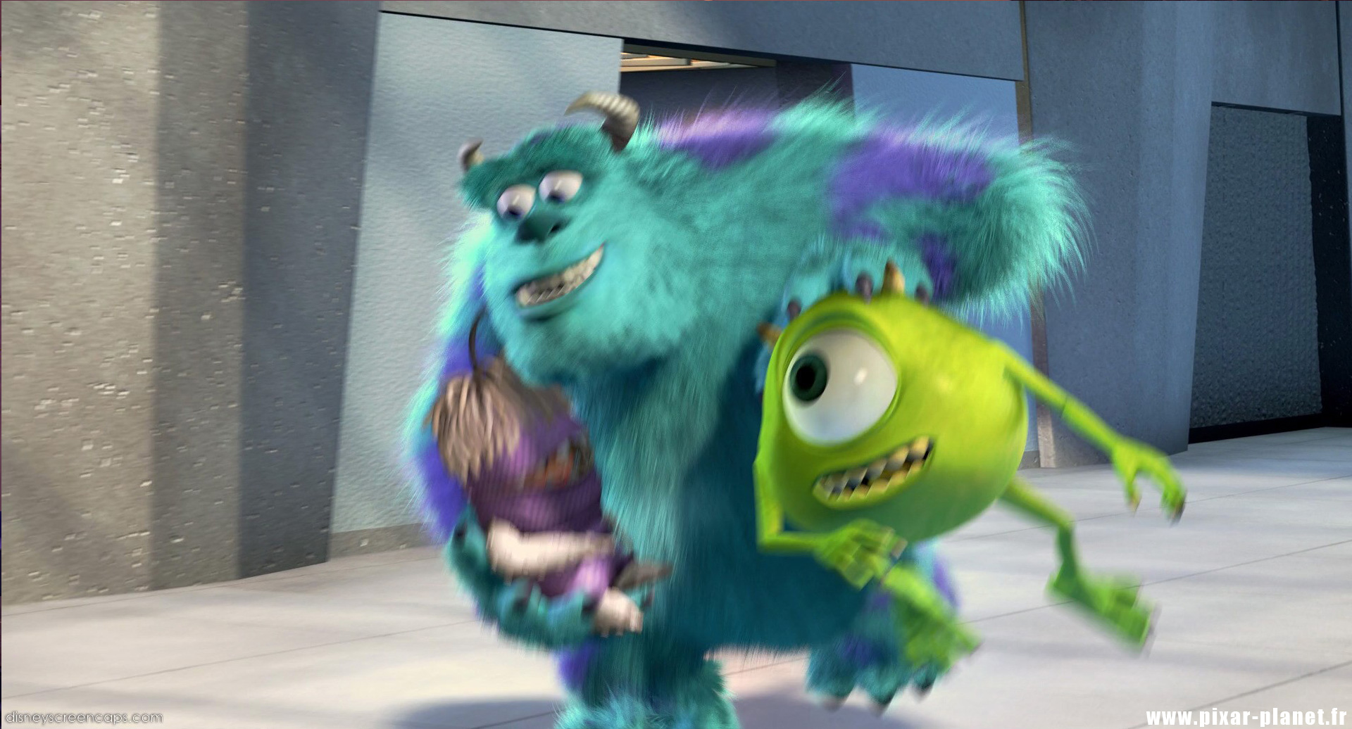 quotes from monsters inc pixar planet fr. Black Bedroom Furniture Sets. Home Design Ideas