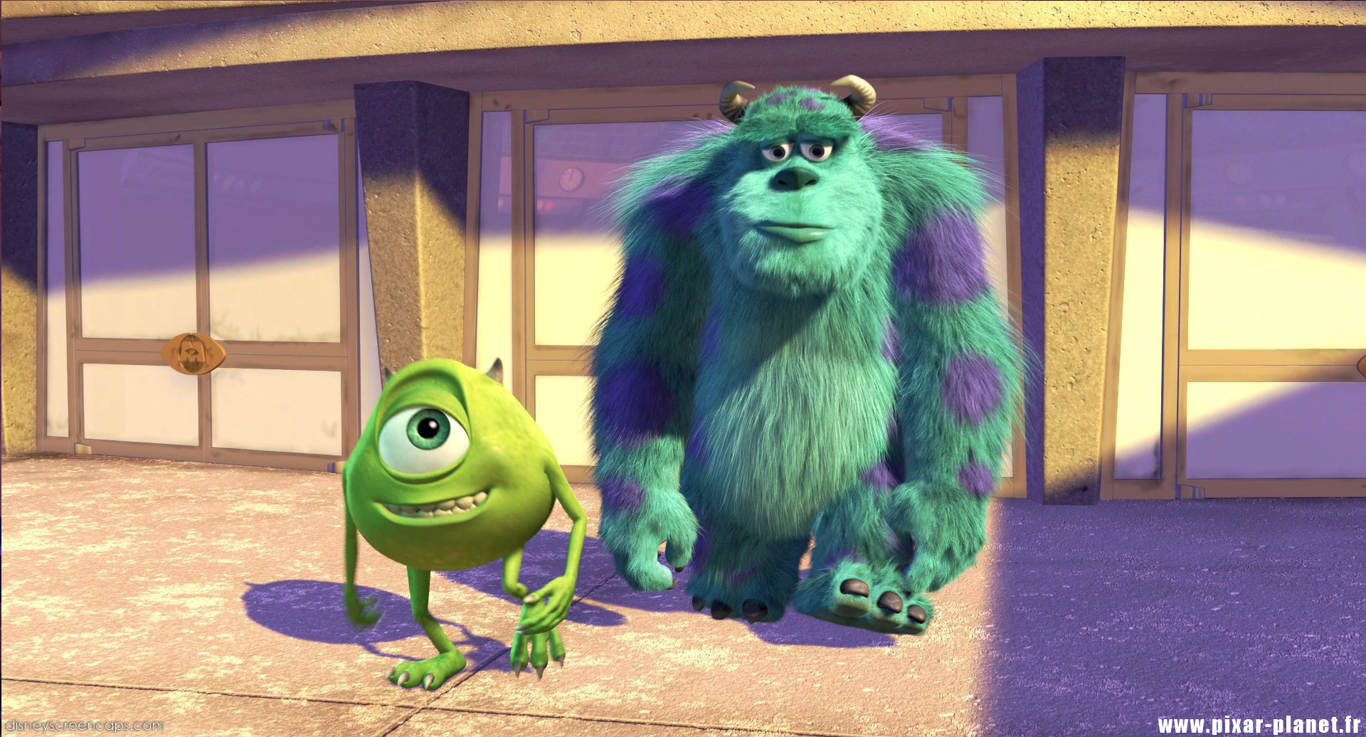 Pixar Planet Disney monstres cie monsters inc
