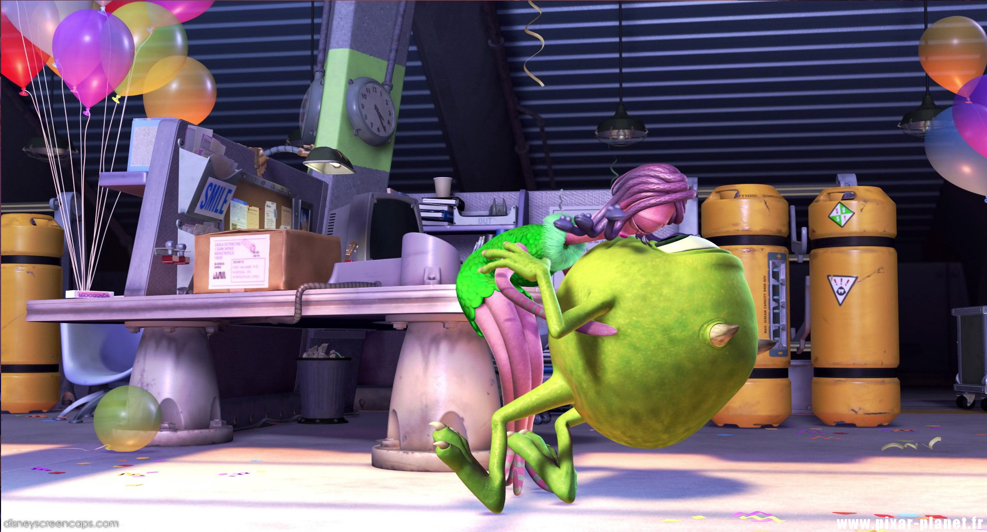 "Quotes from ""Monsters, Inc""  