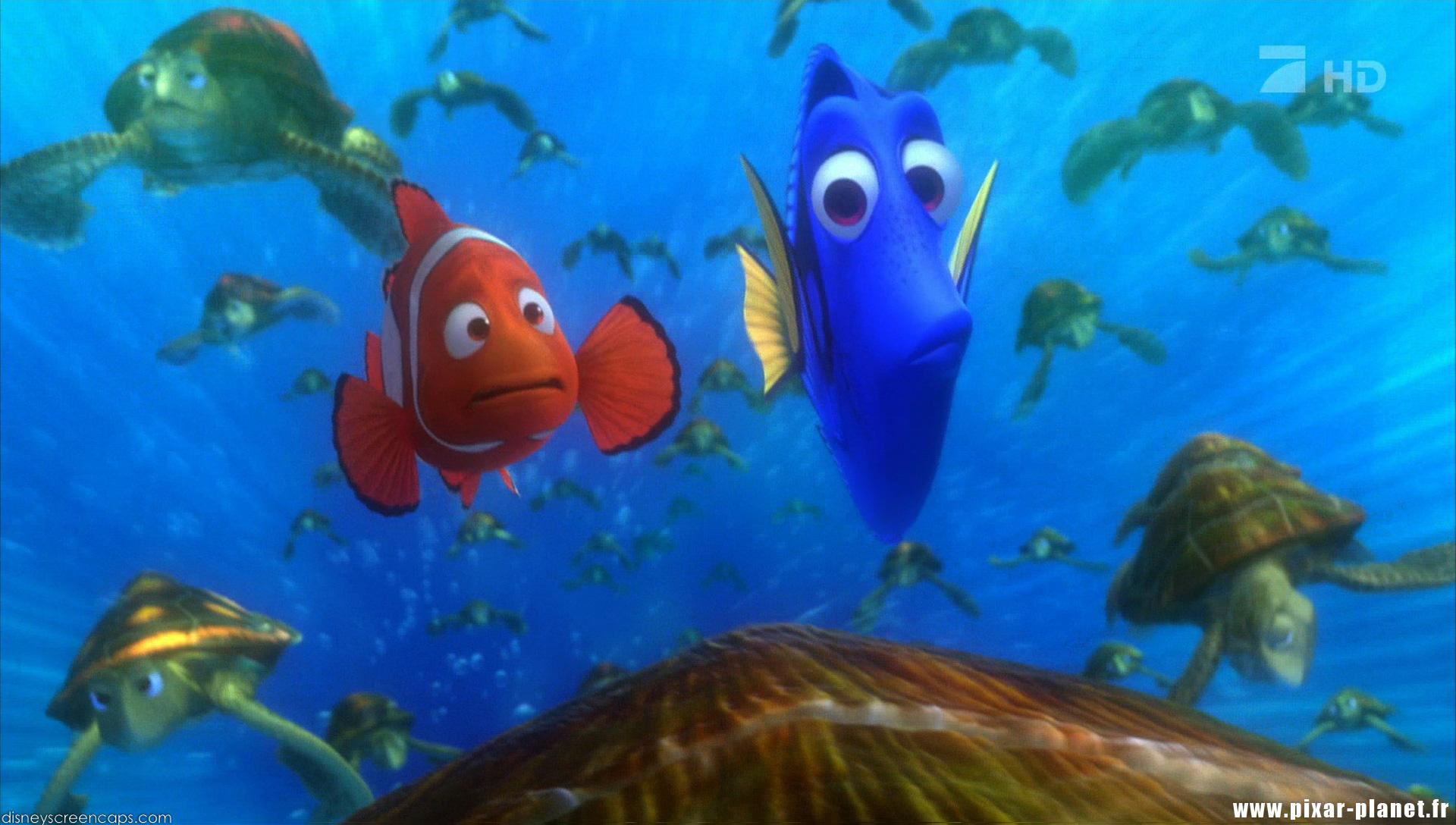 Pixar Planet Disney le monde de nemo finding