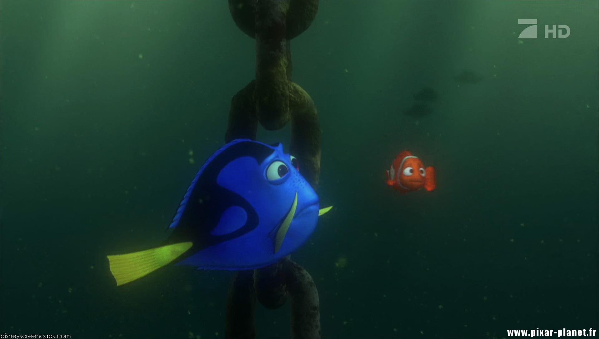 Les r pliques dans le monde de nemo pixar planet fr - Nemo et doris ...