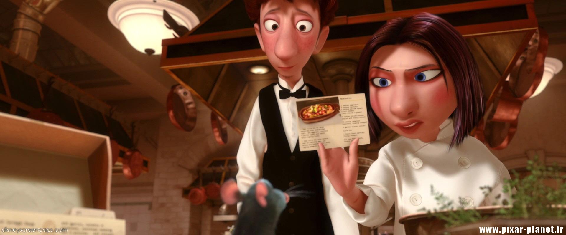 Pixar Planet Disney ratatouille