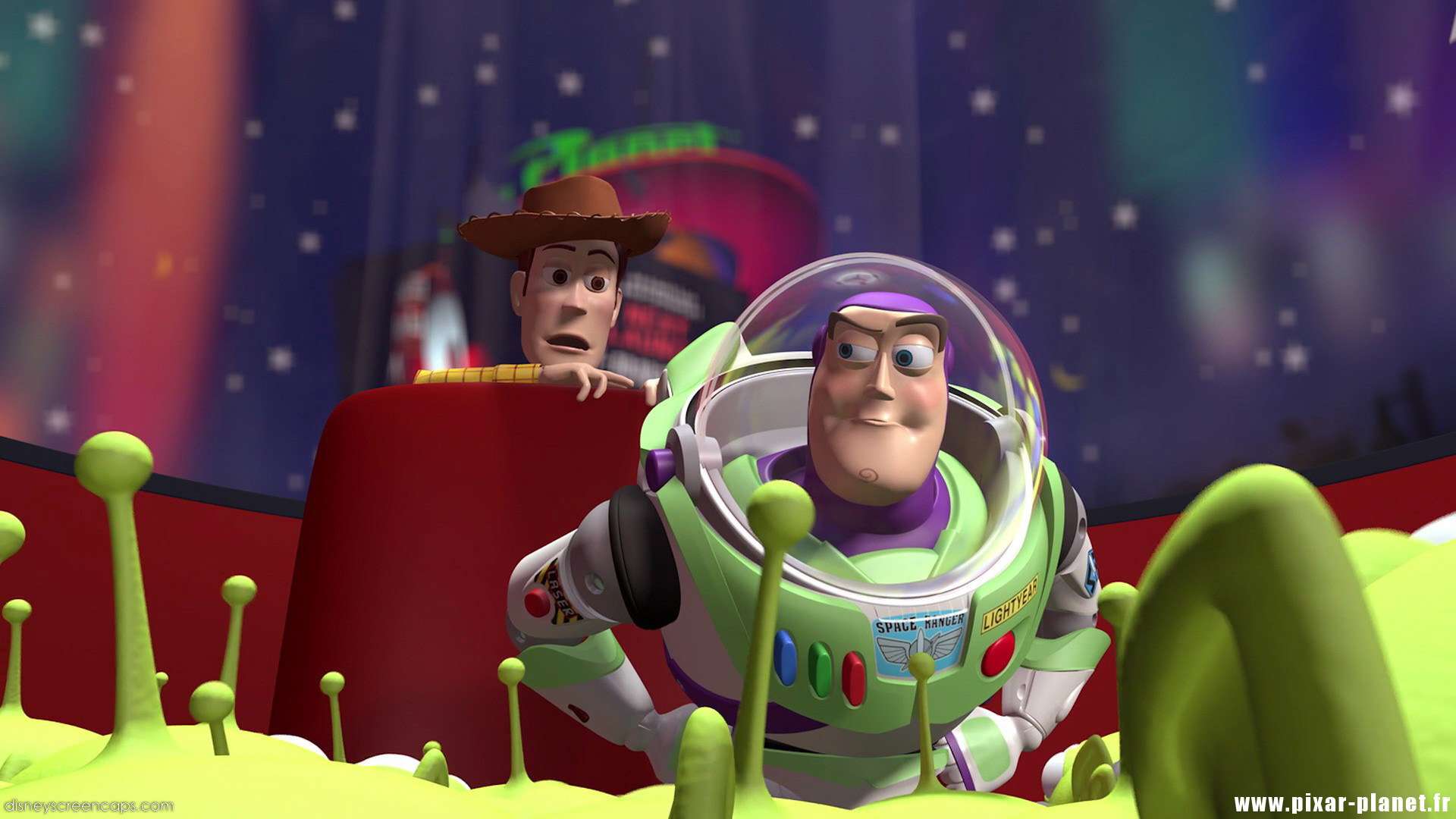 Pixar Planet Disney toy story