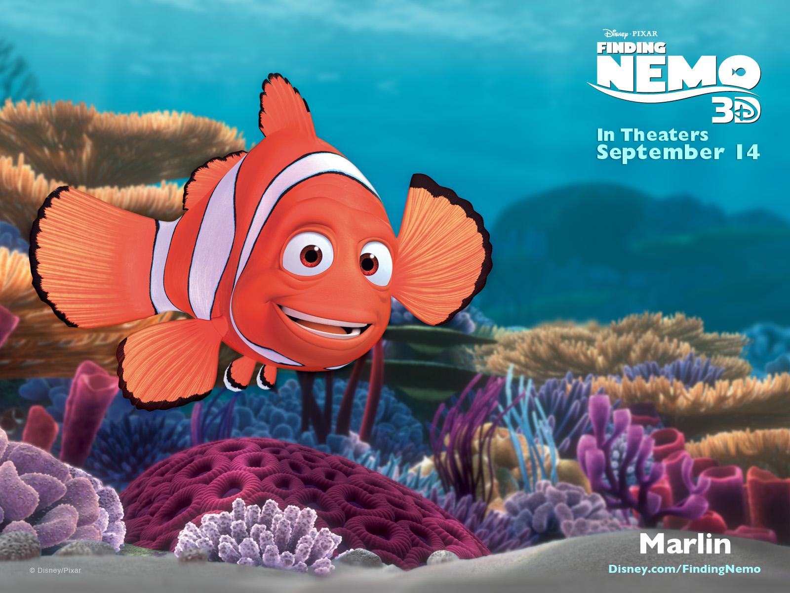 Pixar Planet disney monde nemo 3d