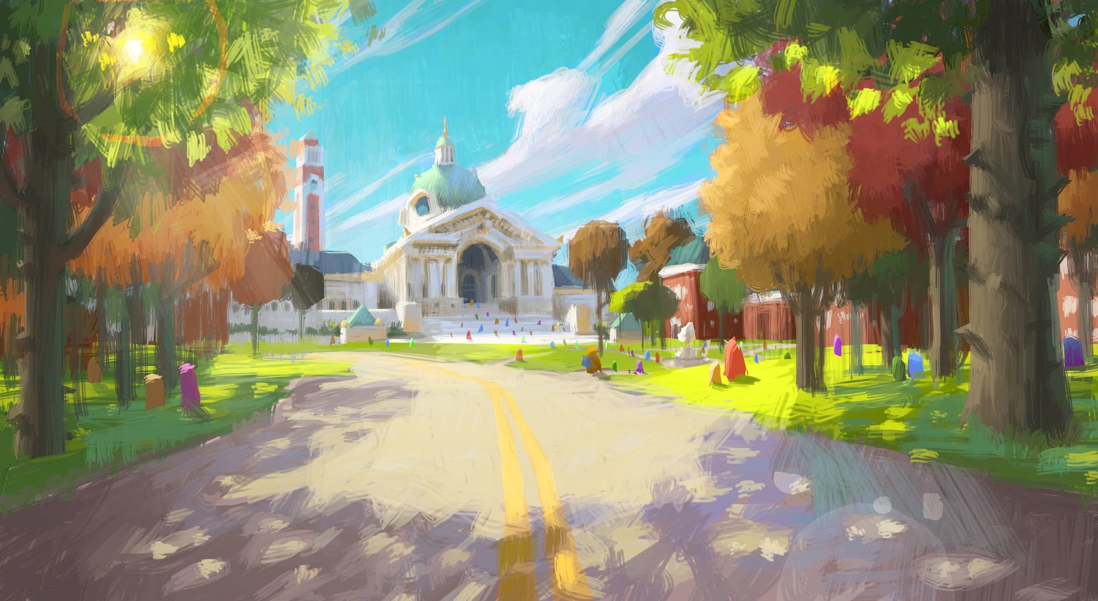 pixar planet disney monstres academy artwork