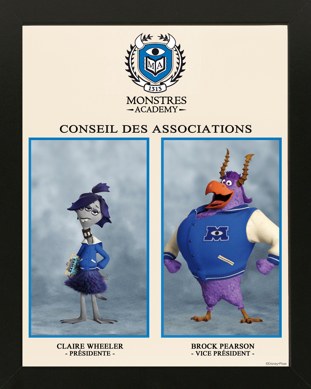 pixar planet disney monstre academy university