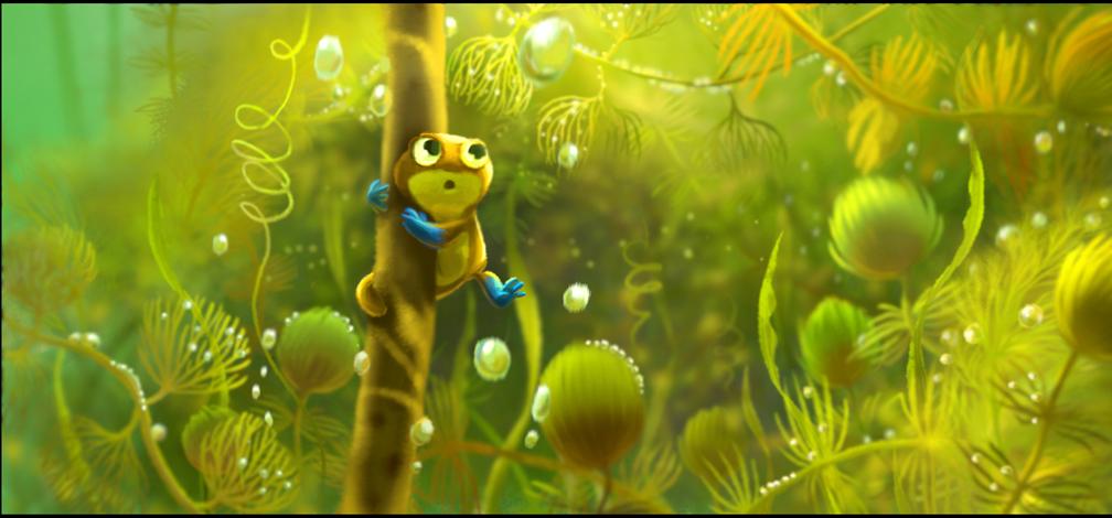 pixar planet disney newt artwork