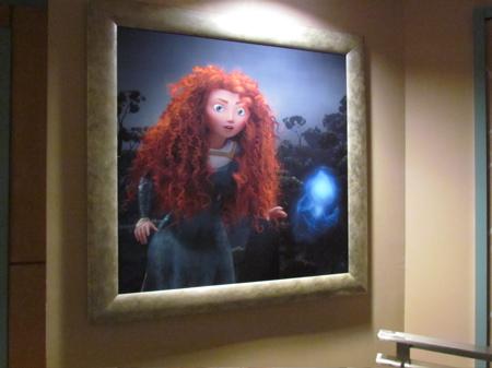 Pixar Planet Disney Brave rebelle concept artwork