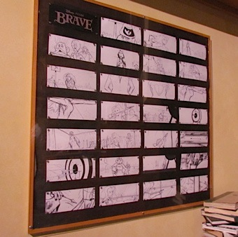 Pixar Planet Disney artwork Brave Rebelle