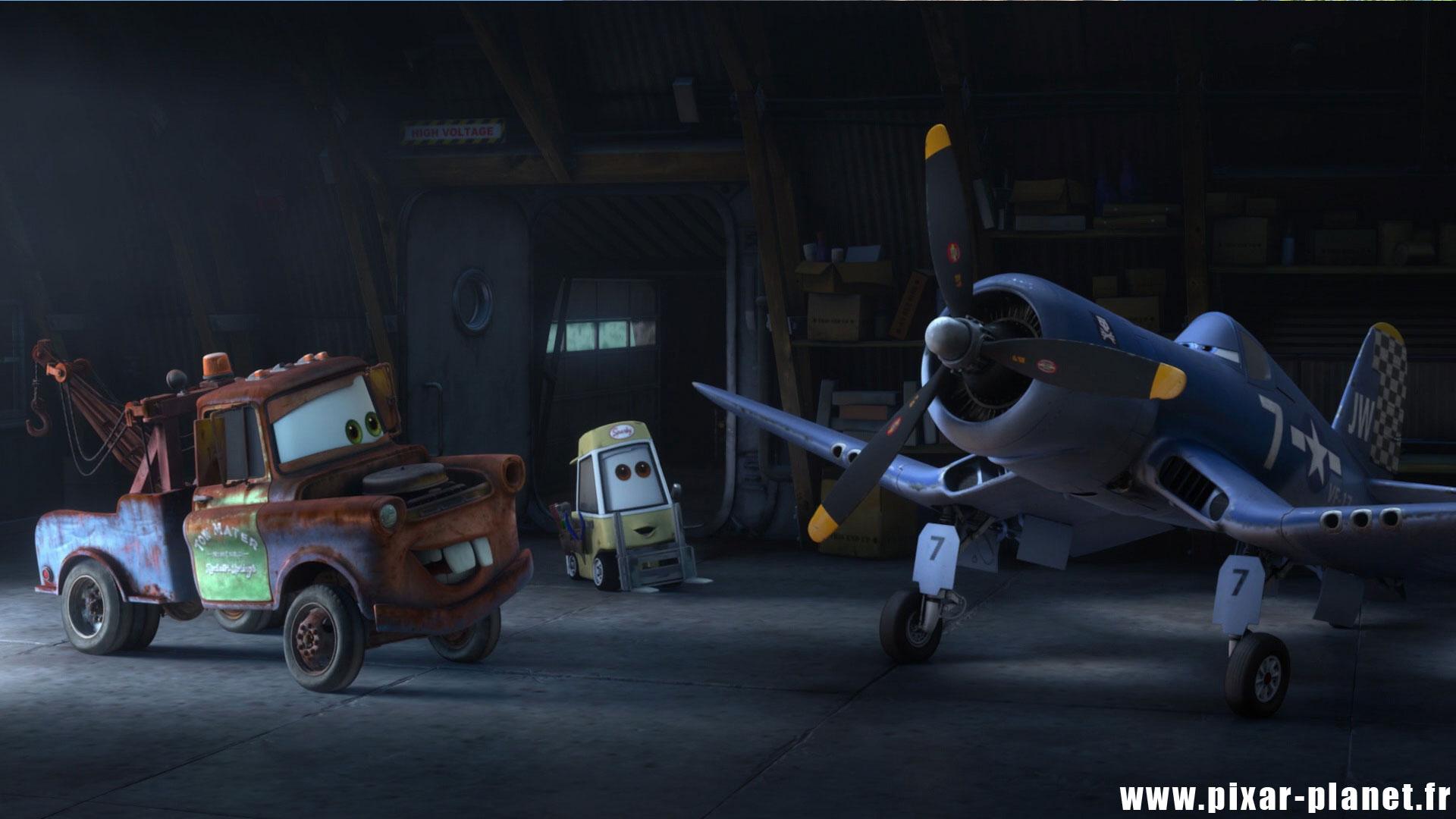 Pixar Planet Disney Clin Oeil Easter Egg cars toon