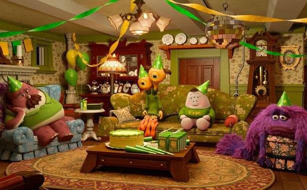 Pixar Planet Disney Party Central