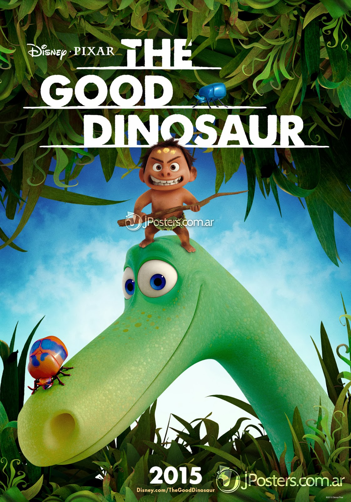 pixar disney the good dinosaur affiche poster