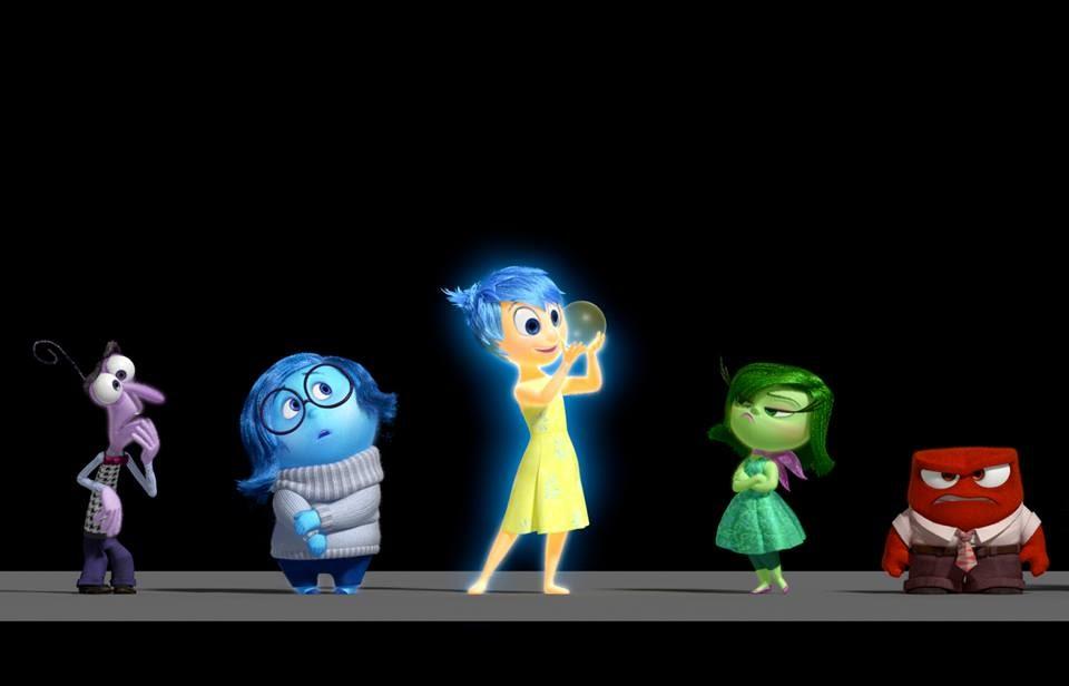 Pixar disney promotion image inside out