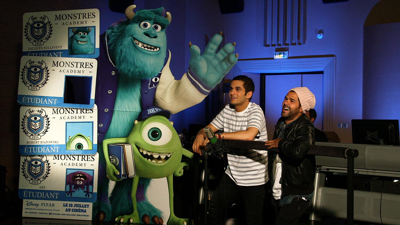pixar disney artwork monstres academy monsters university making of