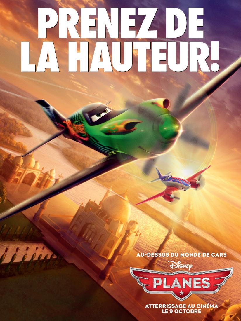 Pixar disney planes affiche