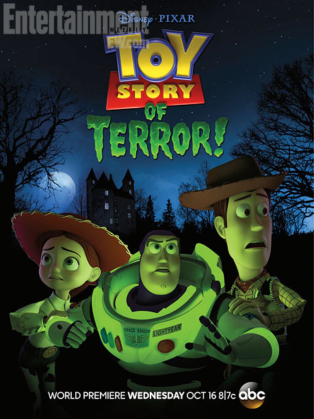 pixar disney toy story terror affiche