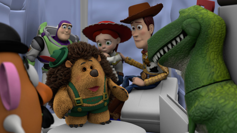 pixar disney toy story of terror artwork angoisse motel