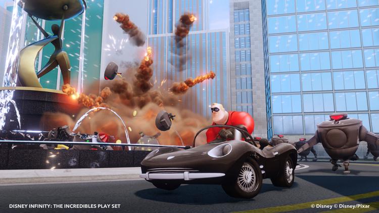 Pixar disney infinity jeu vidéo