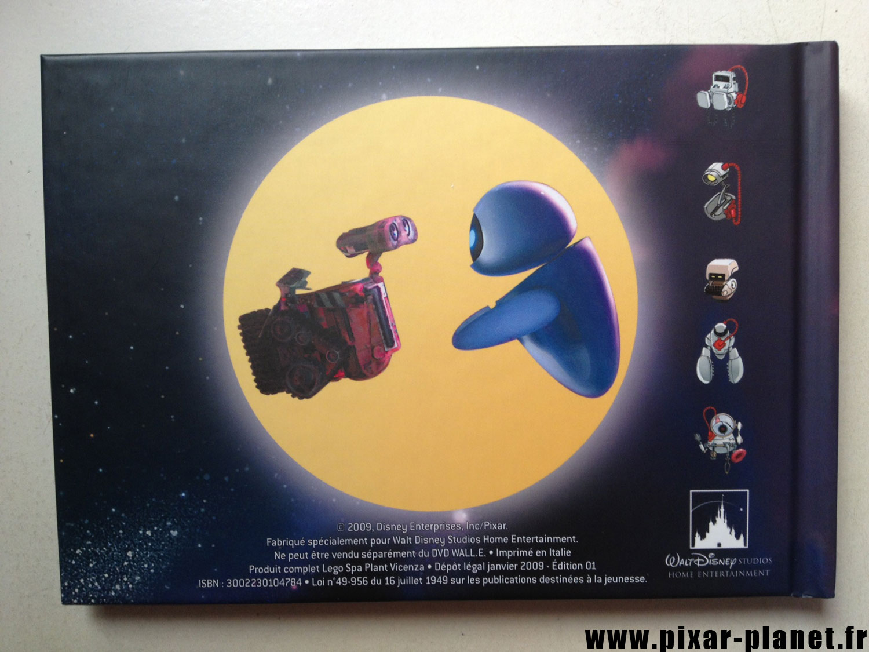 pixar disney livre wall-e making of