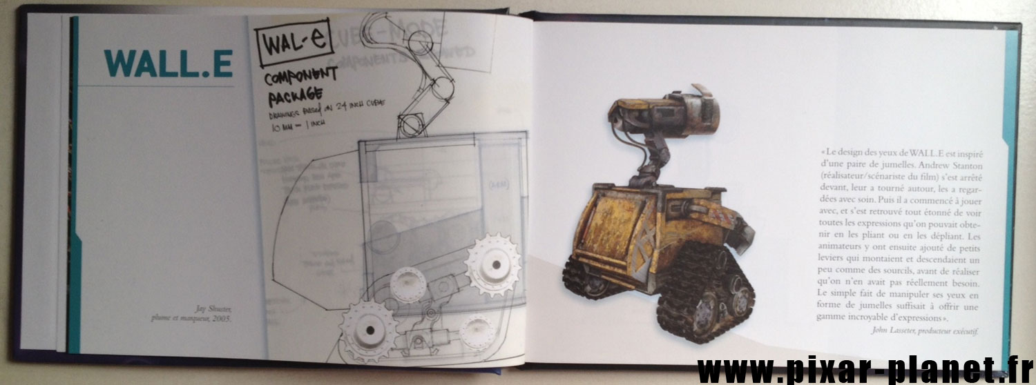 pixar disney livre wall-e making of
