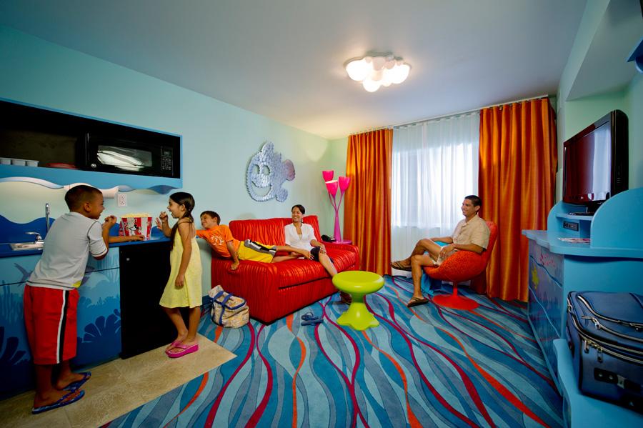 Pixar Planet Disney resort hotel