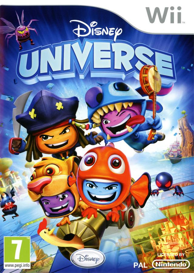 Pixar Planet Disney jeux vidéo universe