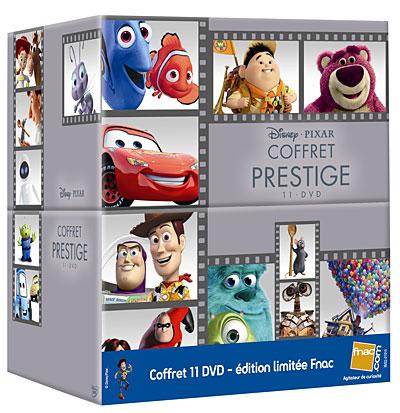 Pixar Planet Disney coffret dvd blu ray