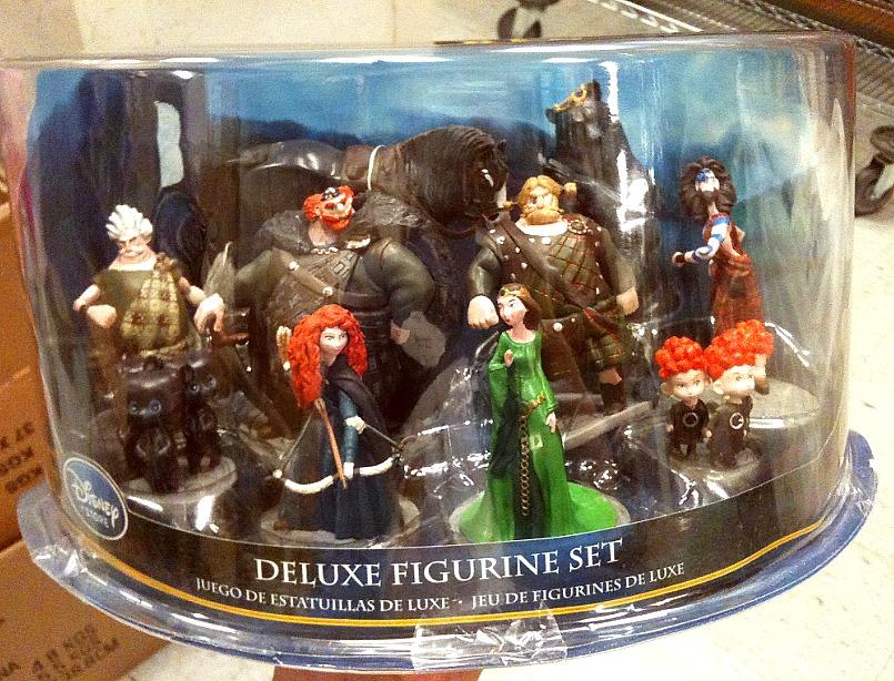 Pixar Planet disney rebelle jouet toy disney store