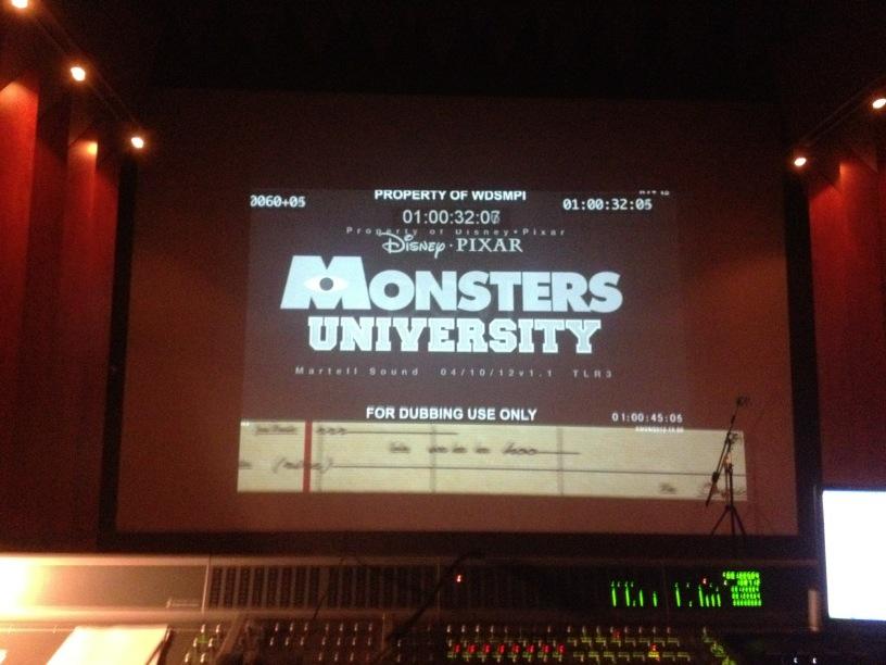 Pixar Planet Disney monstre academy university doublage