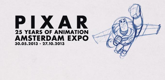 Pixar Disney Exposition 25 ans