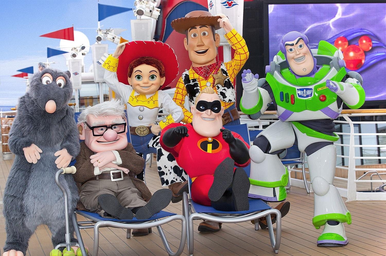Pixar Planet Disney cruise line paquebot croisiere