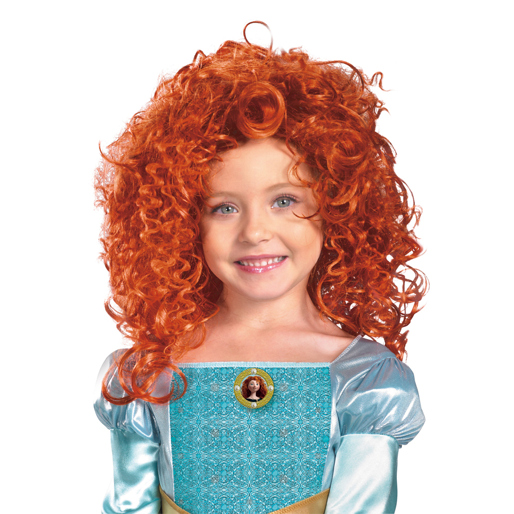 Pixar Planet Disney Rebelle brave produit costum merchandising merida