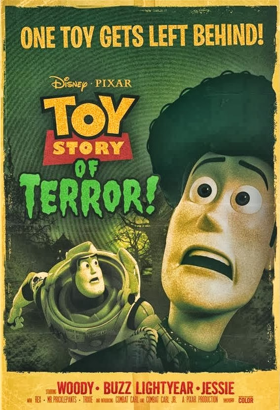 pixar disney toy story of terror affiche angoisse motel