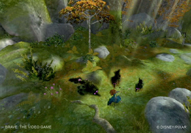 Pixar Planet Disney Rebelle brave jeu vidéo
