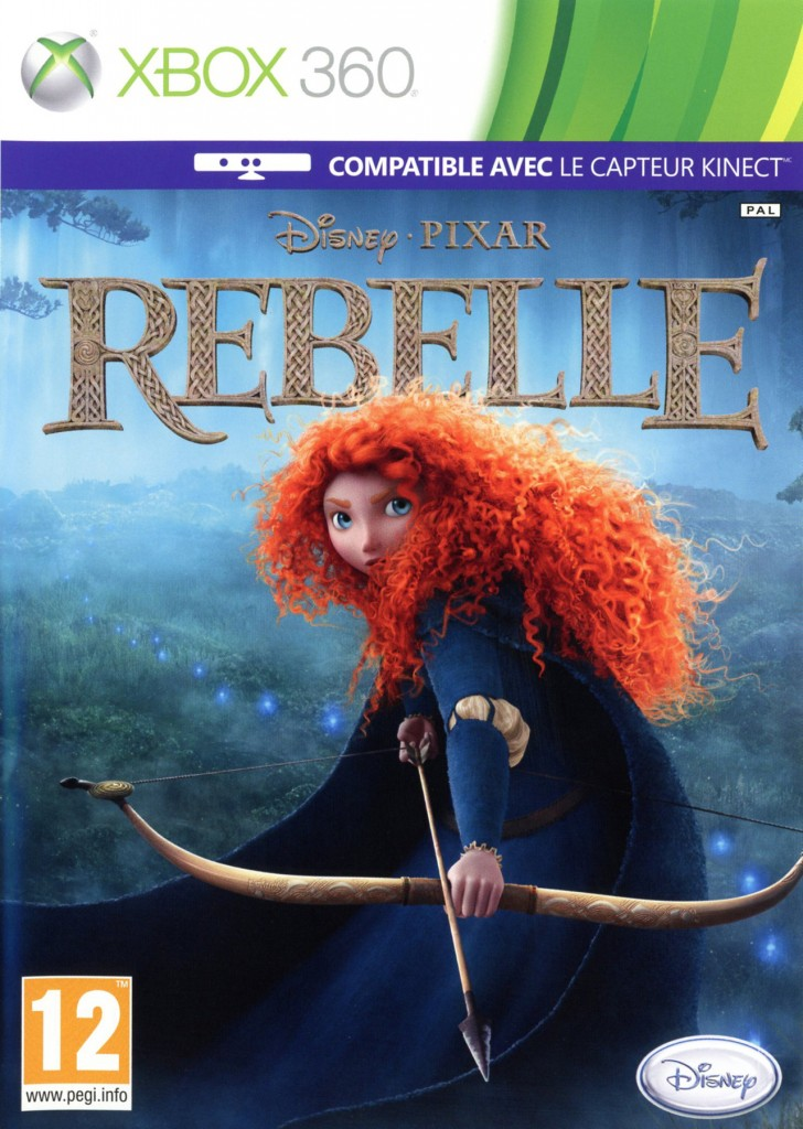 Pixar planet disney rebelle wii