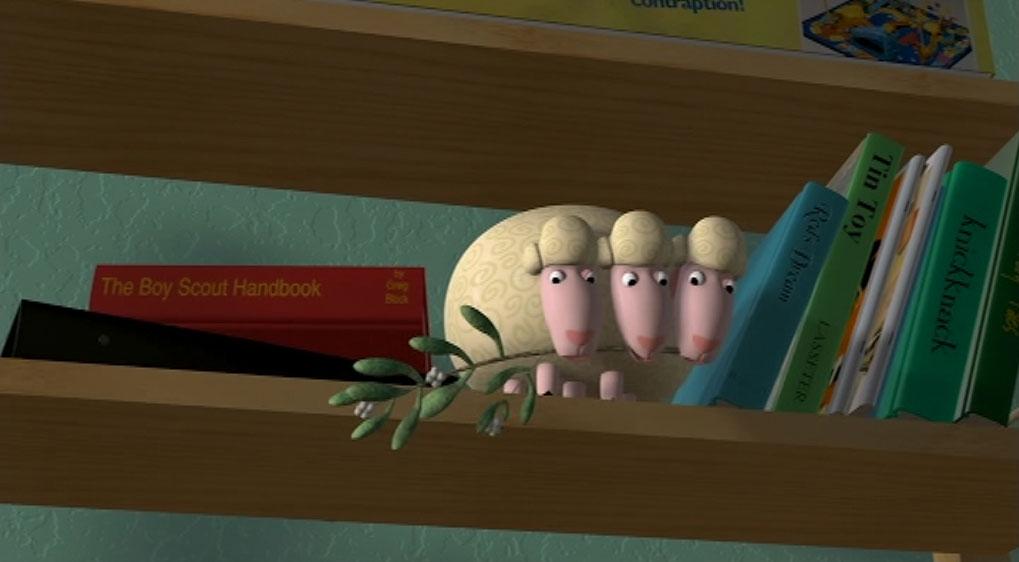 Pixar Planet Disney Toy Story Le mouton à trois têtes