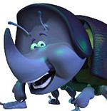 Pixar Planet Disney bug life 1001 pattes Cake