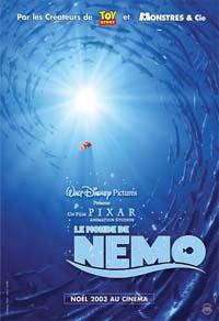 Pixar Planet Disney Affiche Le monde de Némo