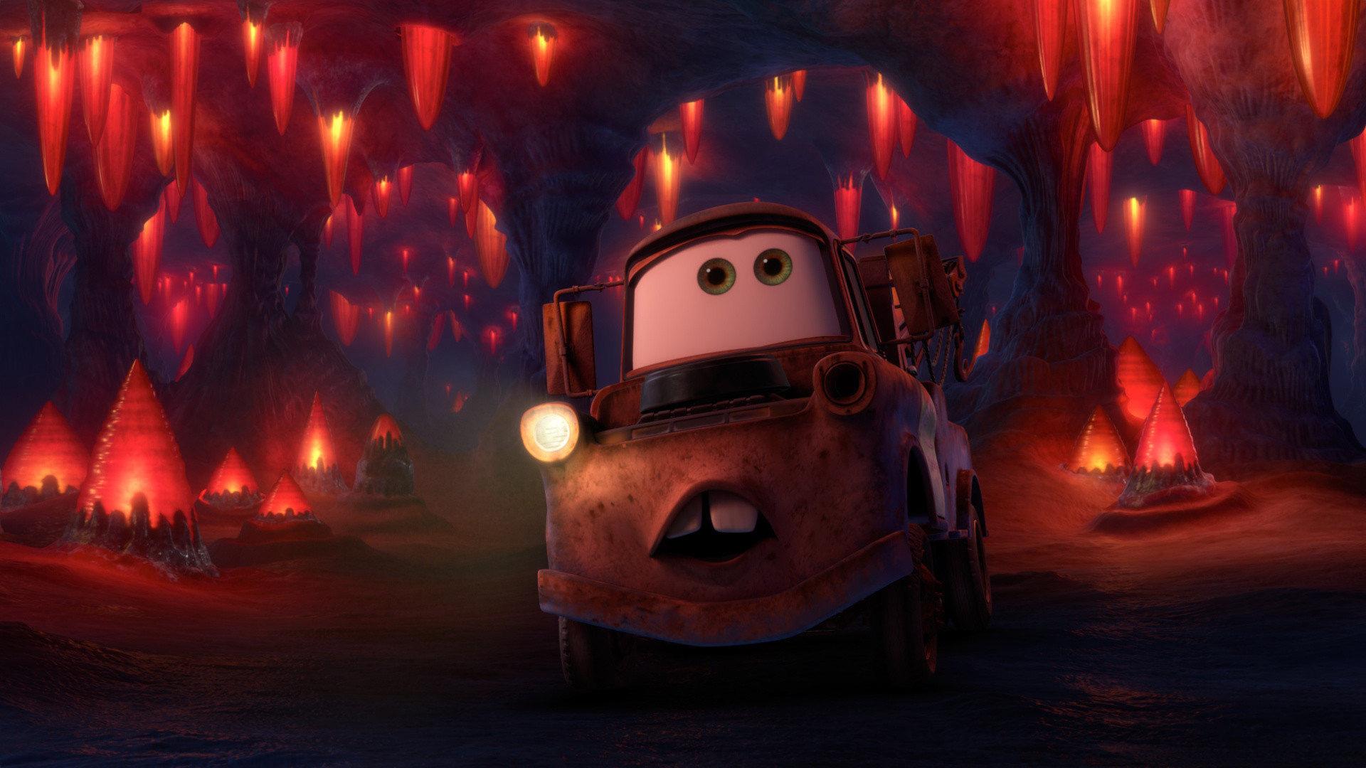 Pixar planet disney time travel mater cars toon martin mater
