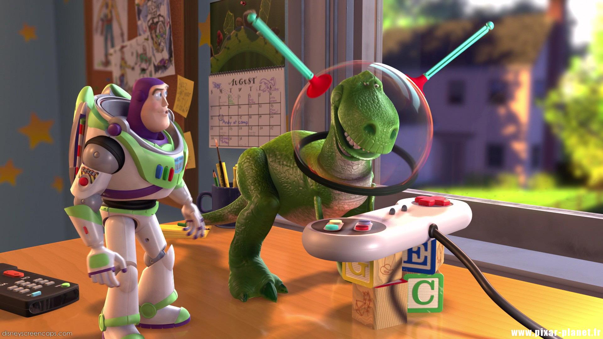 Les r pliques dans toy story 2 pixar planet fr - Le cochon de toy story ...