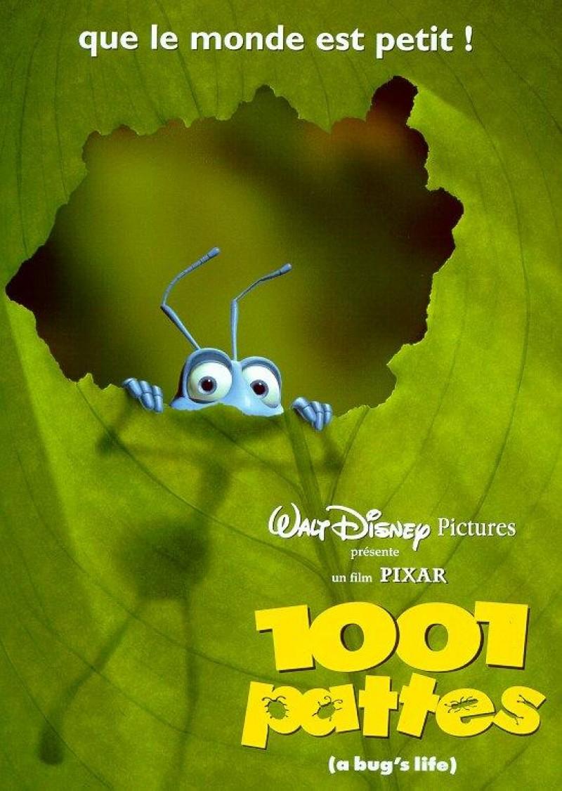 affiche poster 1001 pattes bug life disney pixar