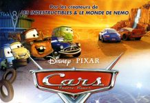 Pixar Disney cars affiche poster